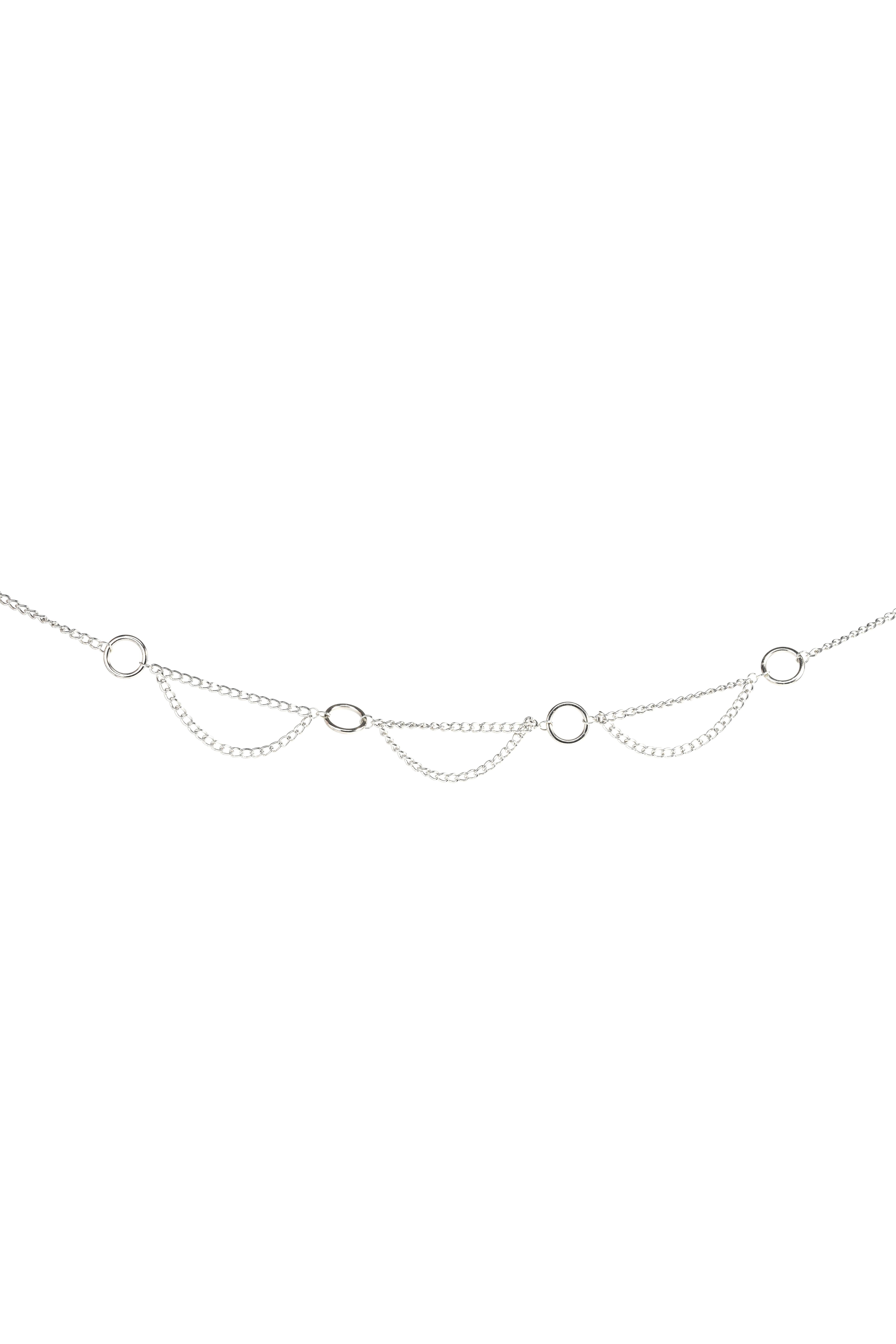 Ремень LIME Серебристый пояс-цепь фотоальбом innova glitter wedding цвет серебристый 10 x 15 см