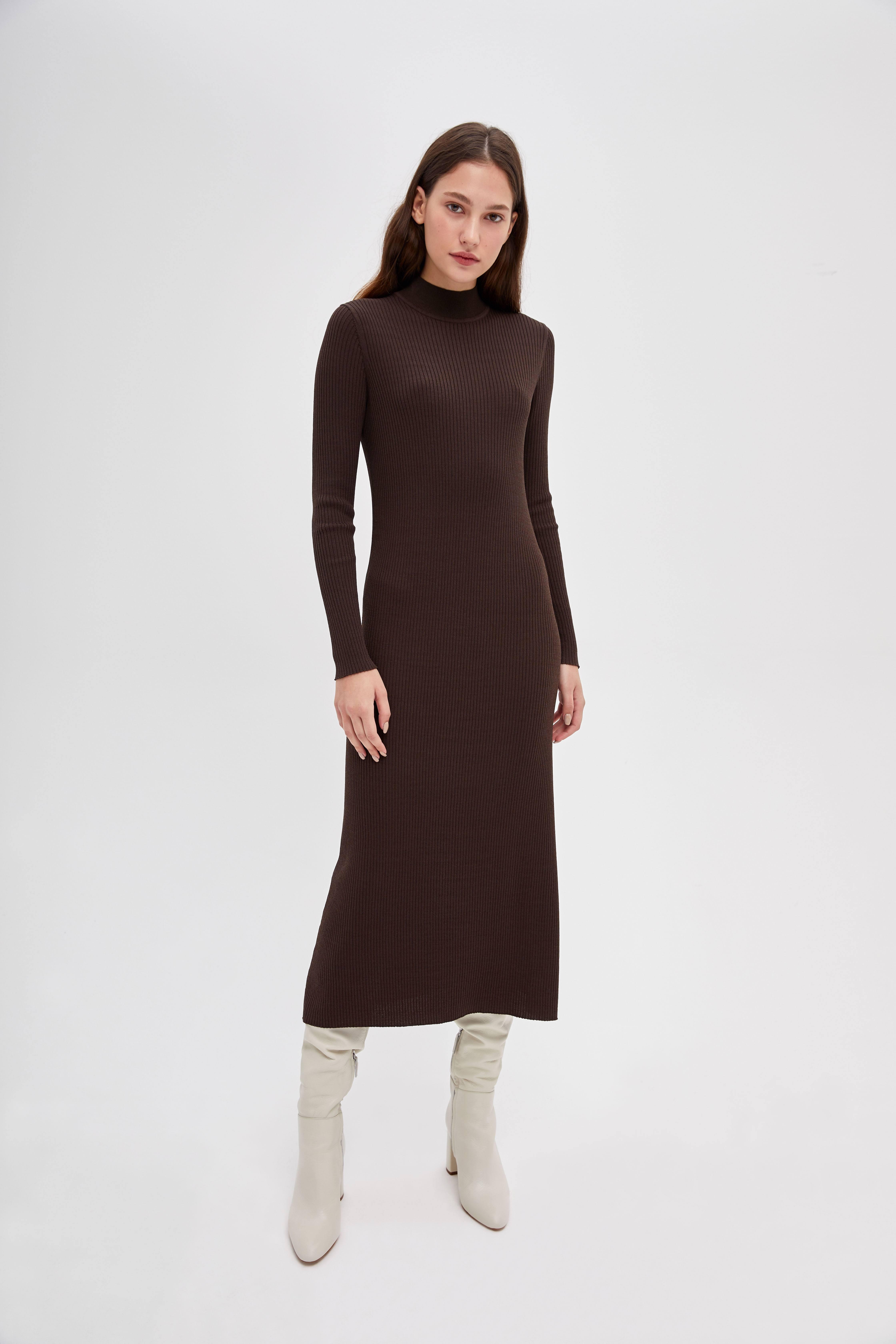 цена на Платье LIME Облегающее трикотажное платье