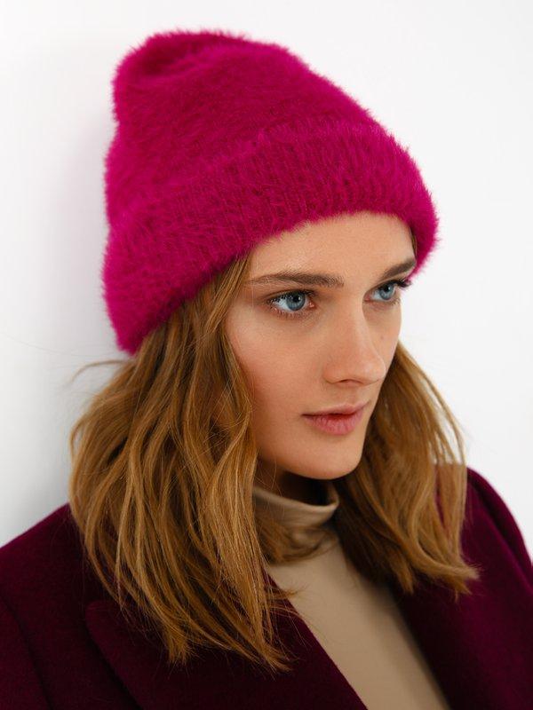 шапка цвет: фуксия