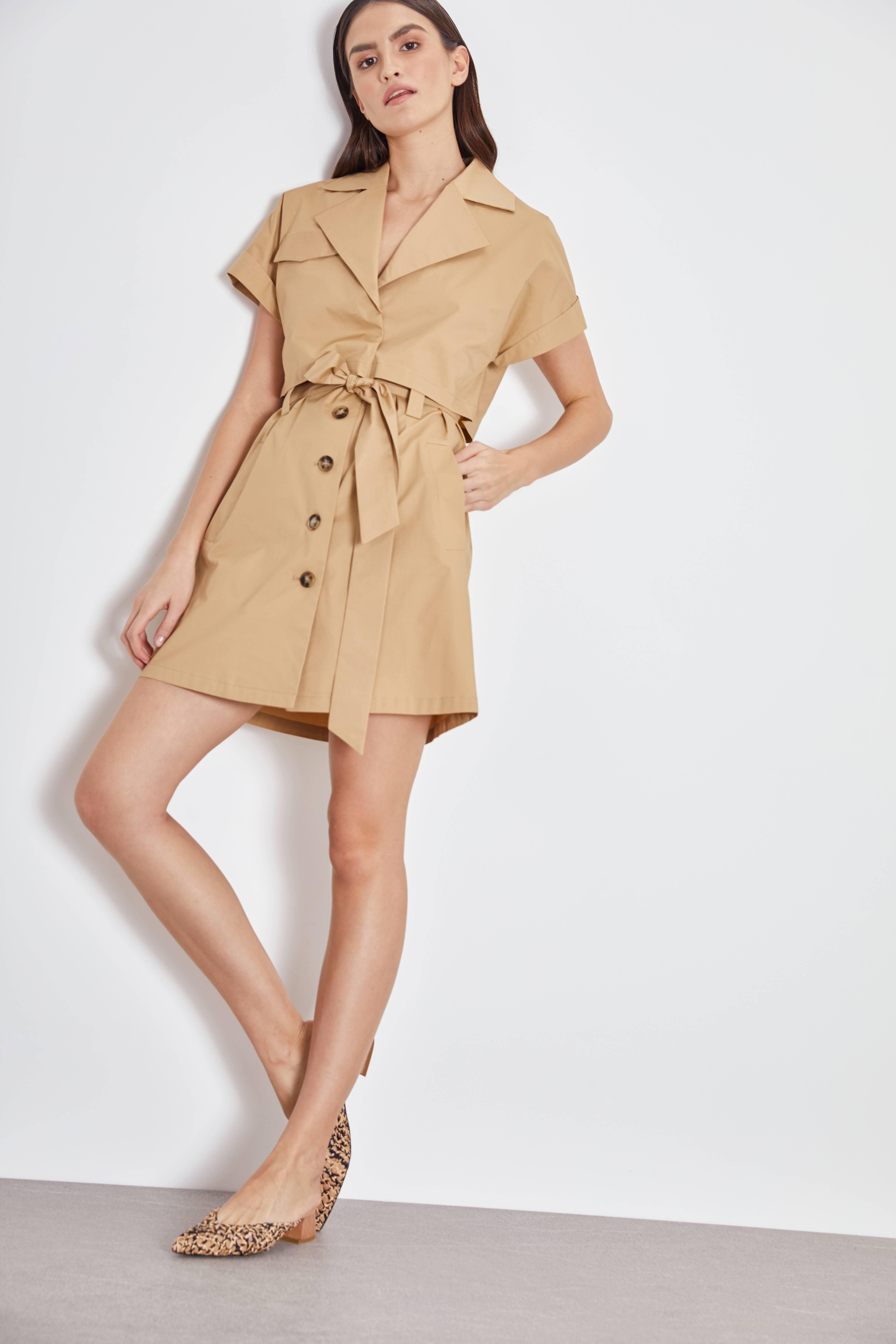 Платье LIME Платье с поясом