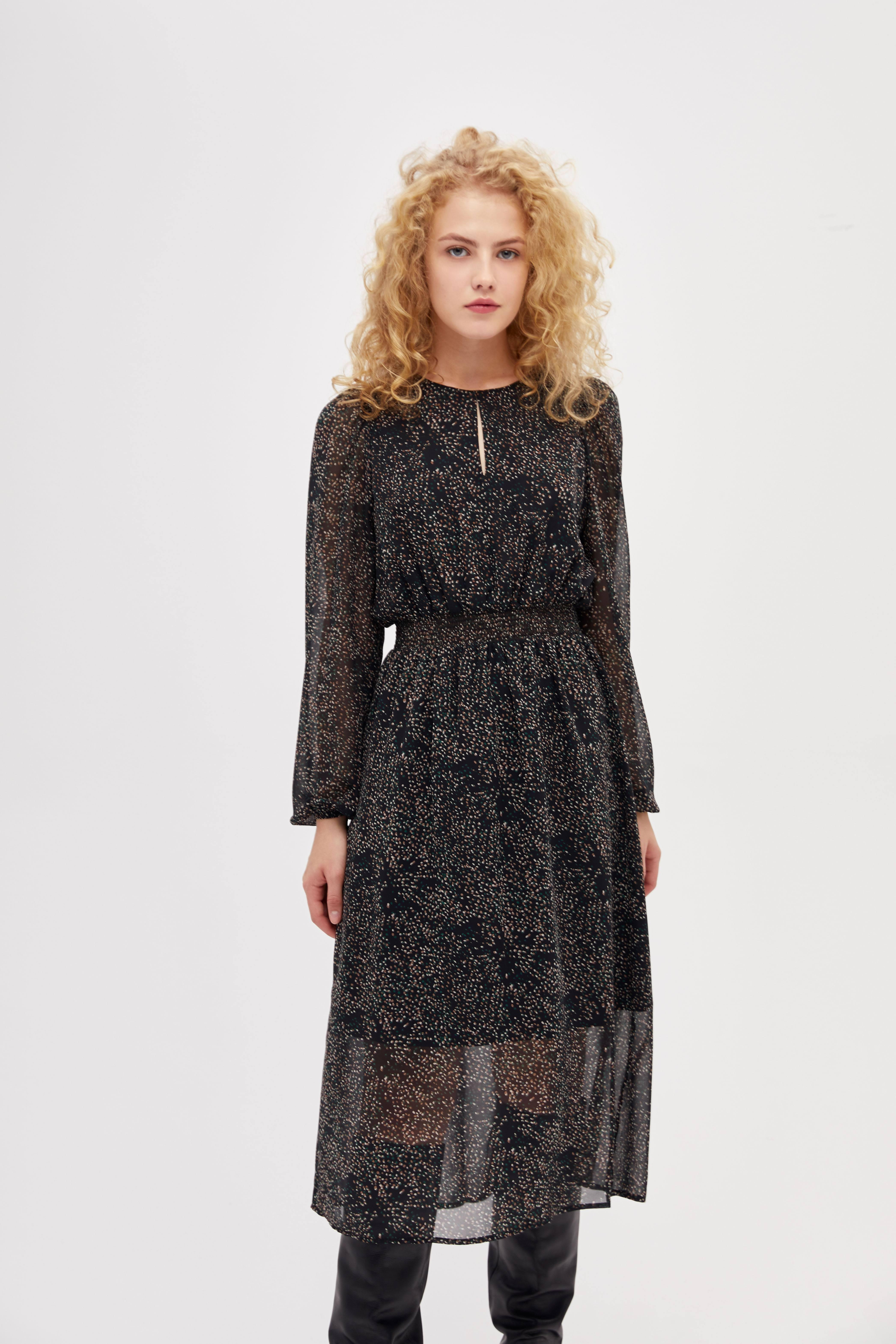 Платье LIME Платье с эластичным поясом платье с поясом princess