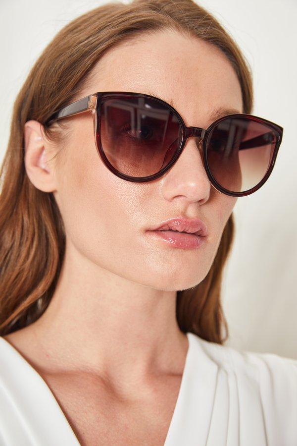 Солнцезащитные очки с градиентом на линзах