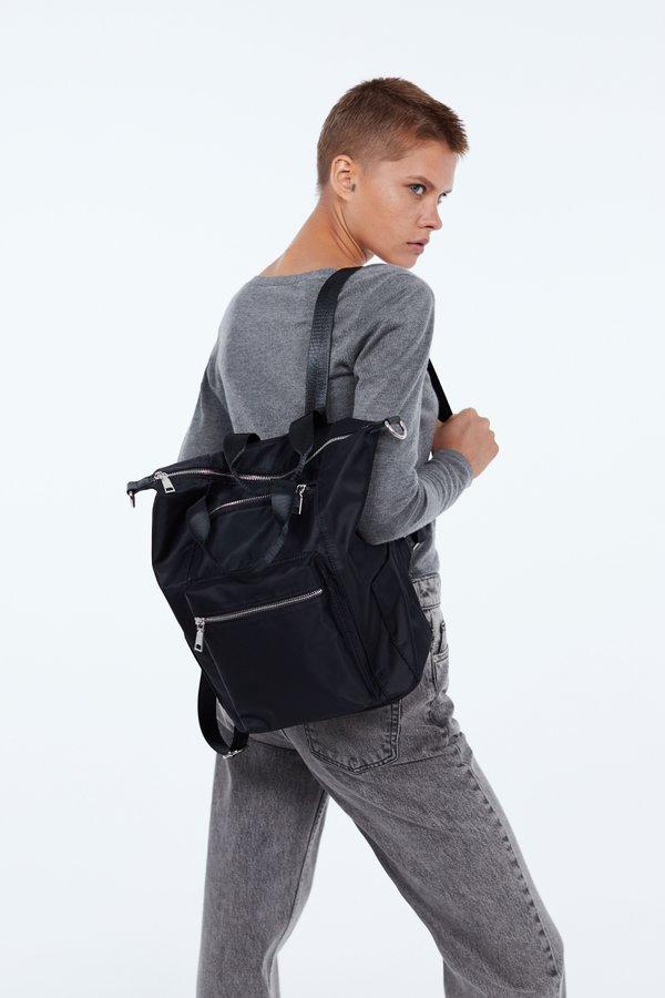 Рюкзак с молниями