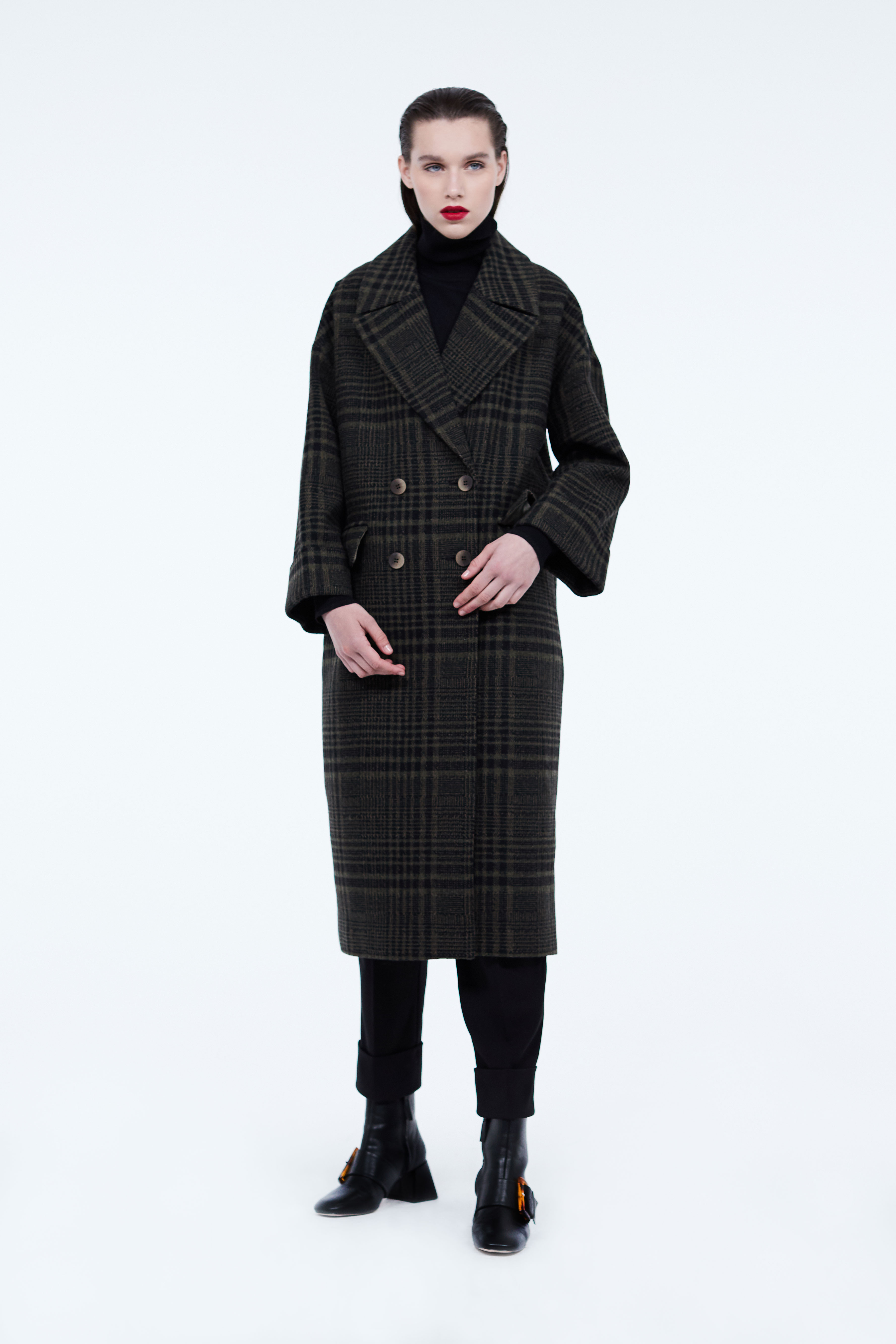 Полупальто LIME Пальто с карманами