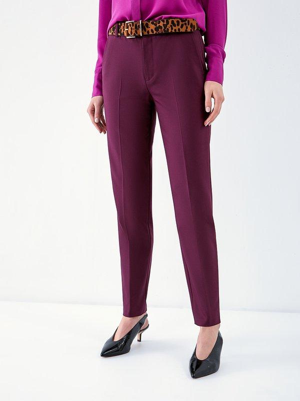 Классические брюки со стрелками цвет: темно-фиолетовый