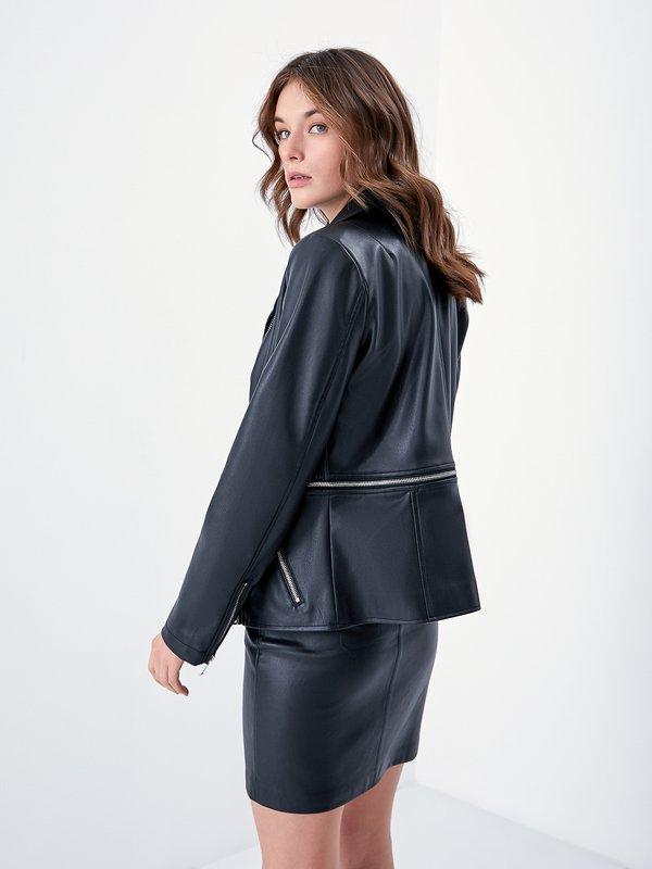 Куртка -  трансформер вид сзади