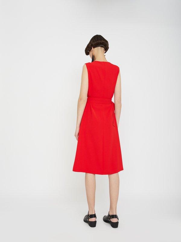 Платье на молнии вид сзади