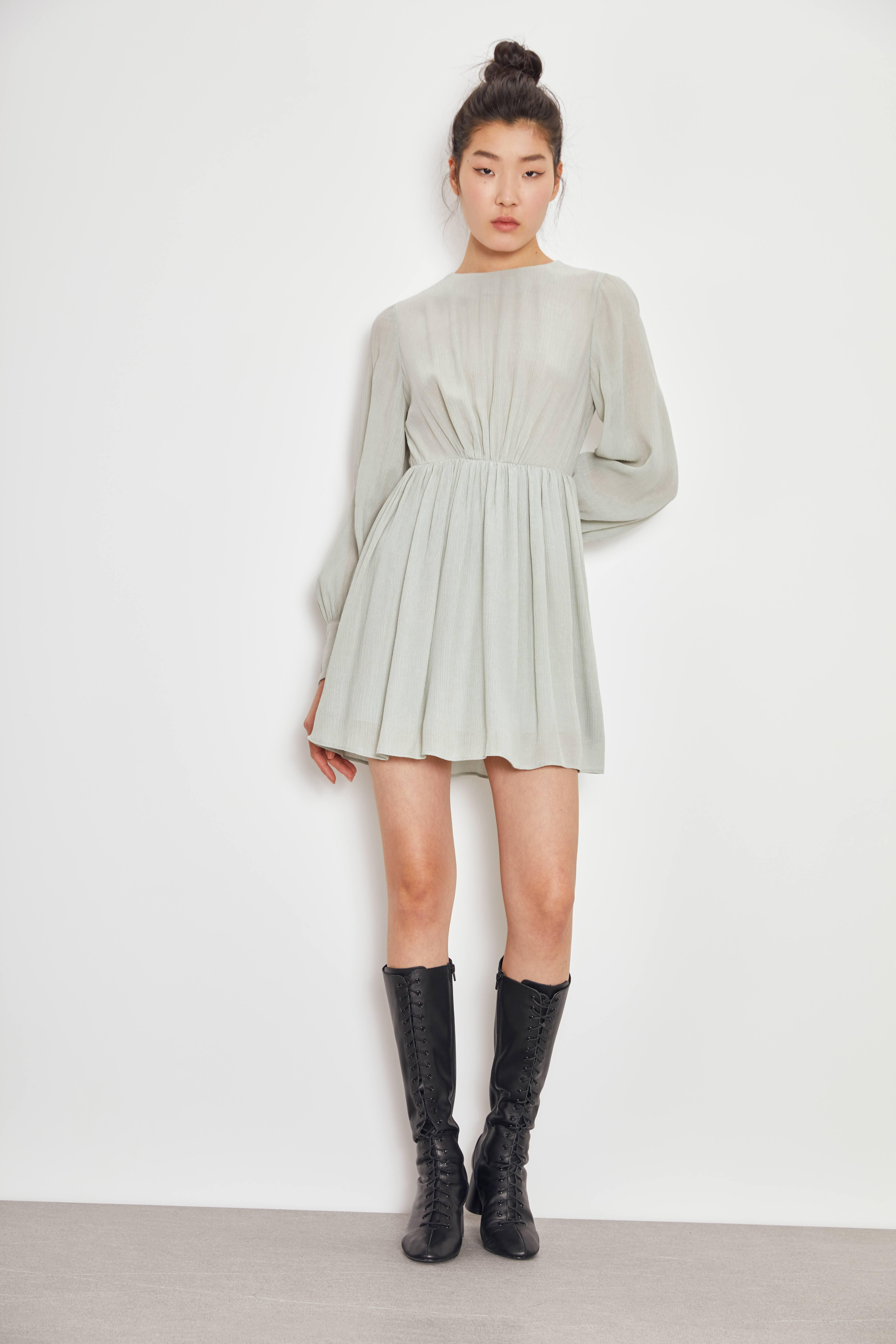 Платье LIME Платье с плиссировкой платье gepur gepur mp002xw0ramm