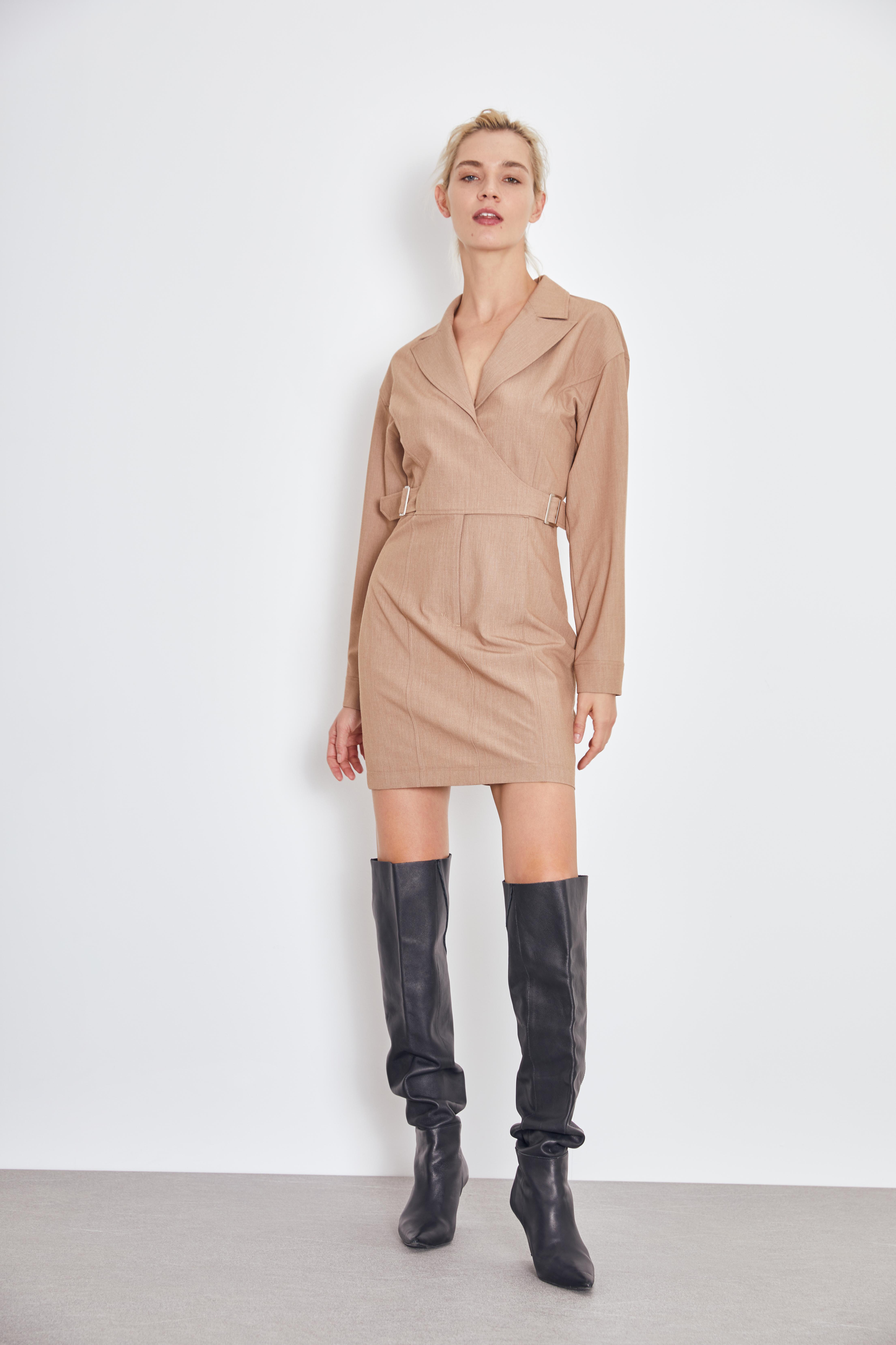 Платье LIME Платье с запáхом