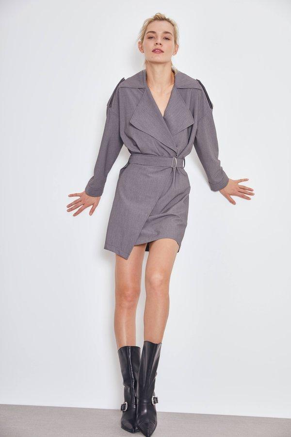 Платье с запáхом