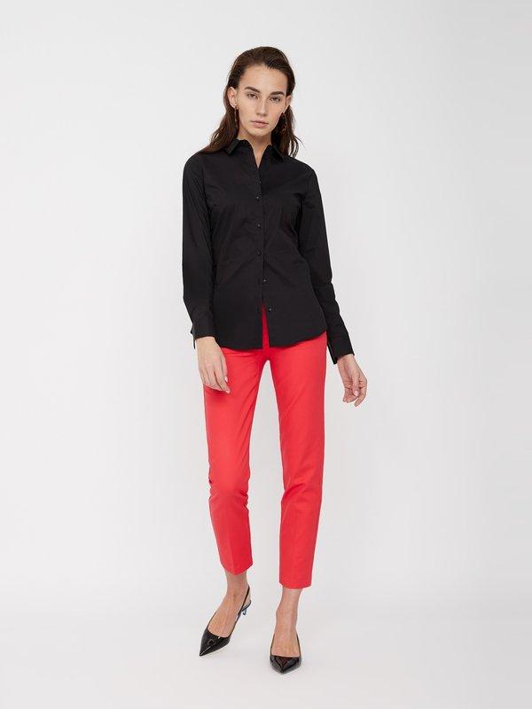Укороченные брюки цвет: коралловый