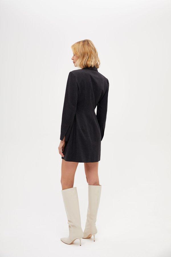 Платье-жакет вид сзади