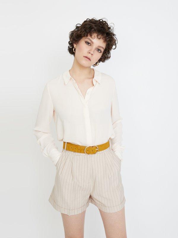 Классические шорты с подворотами