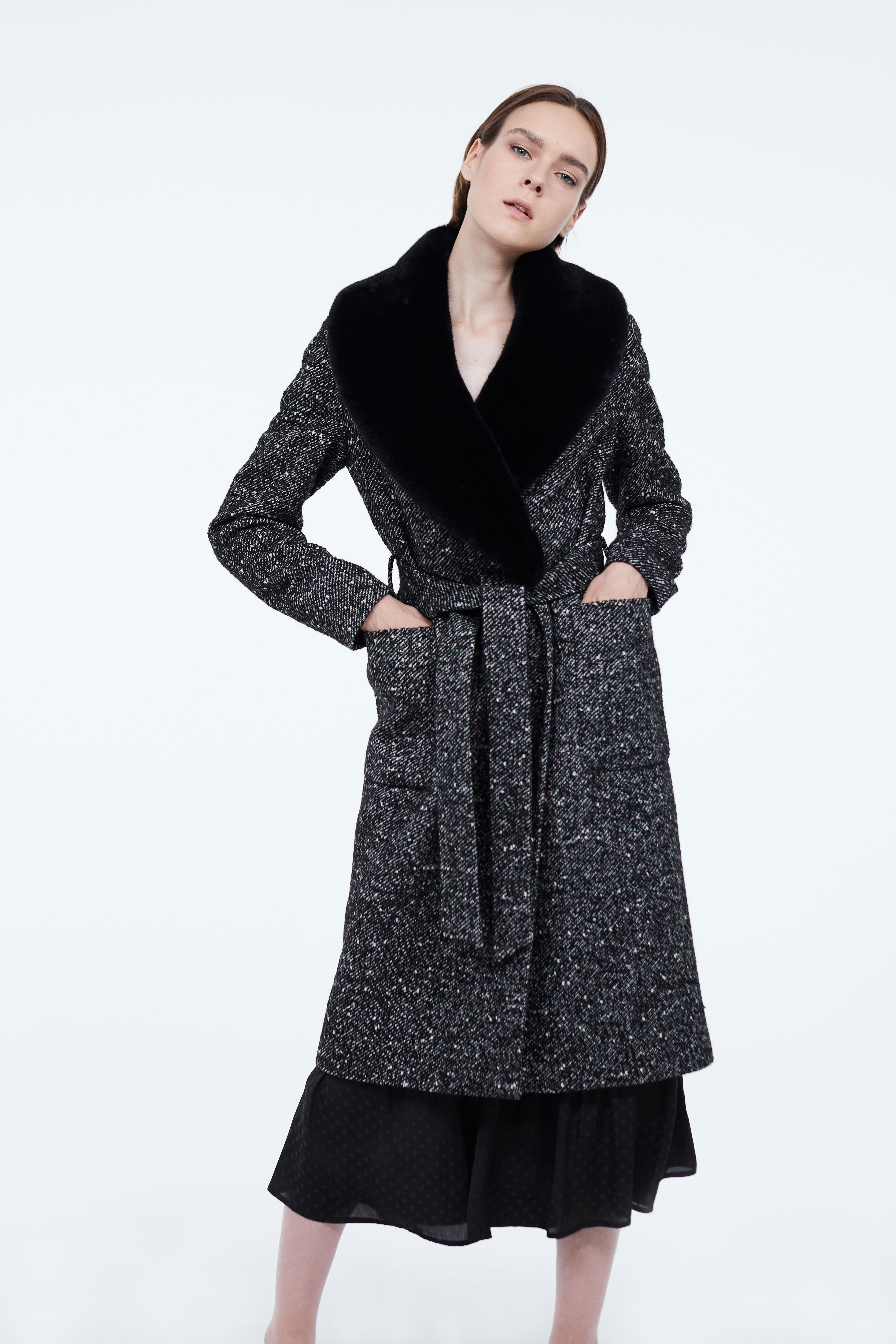 Пальто LIME Пальто со съемной отделкой