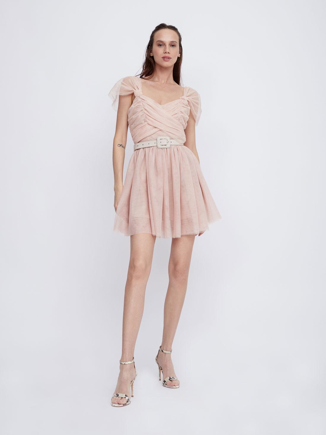 Платье с драпировками