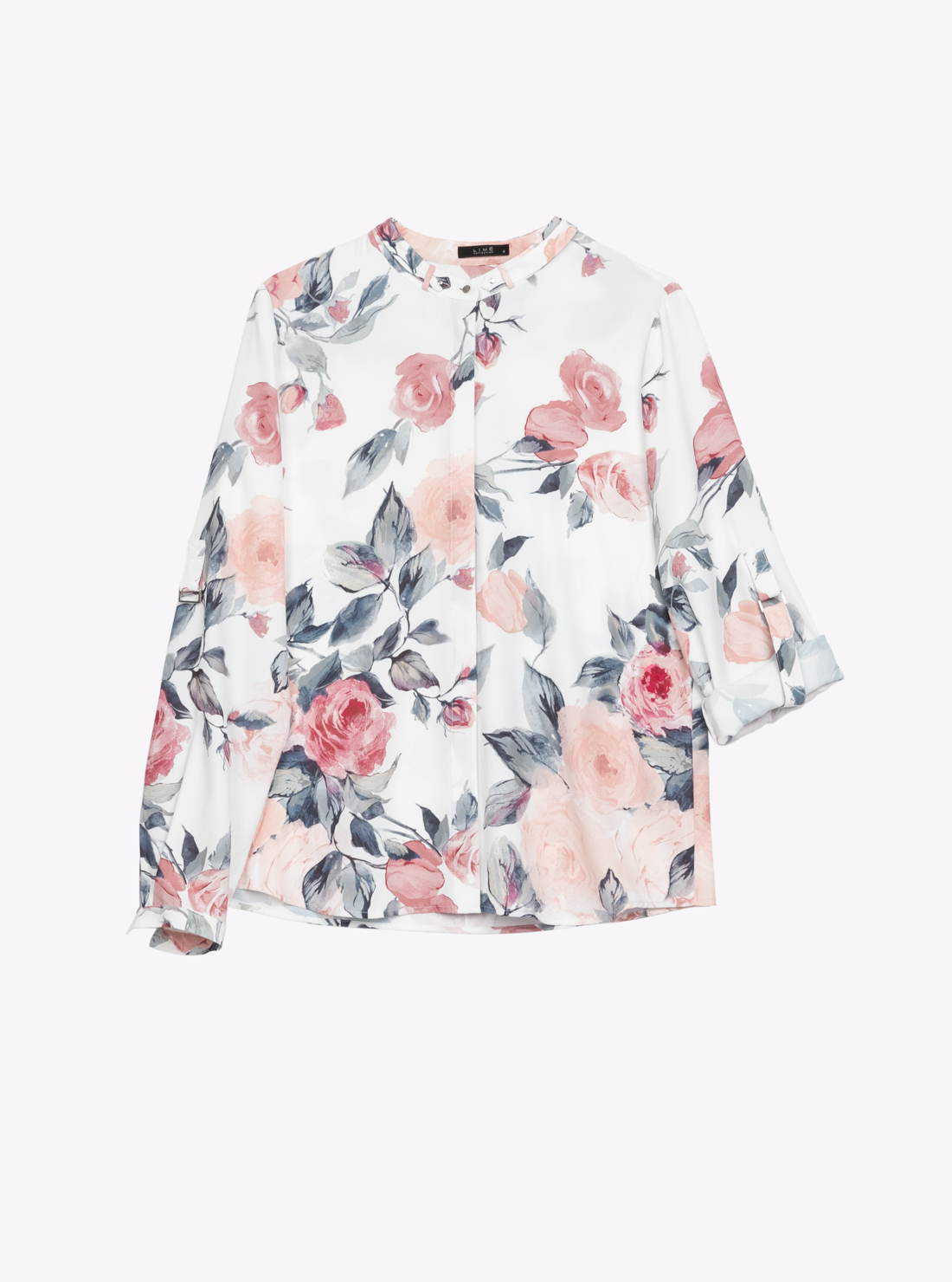Рубашка прямого силуэта