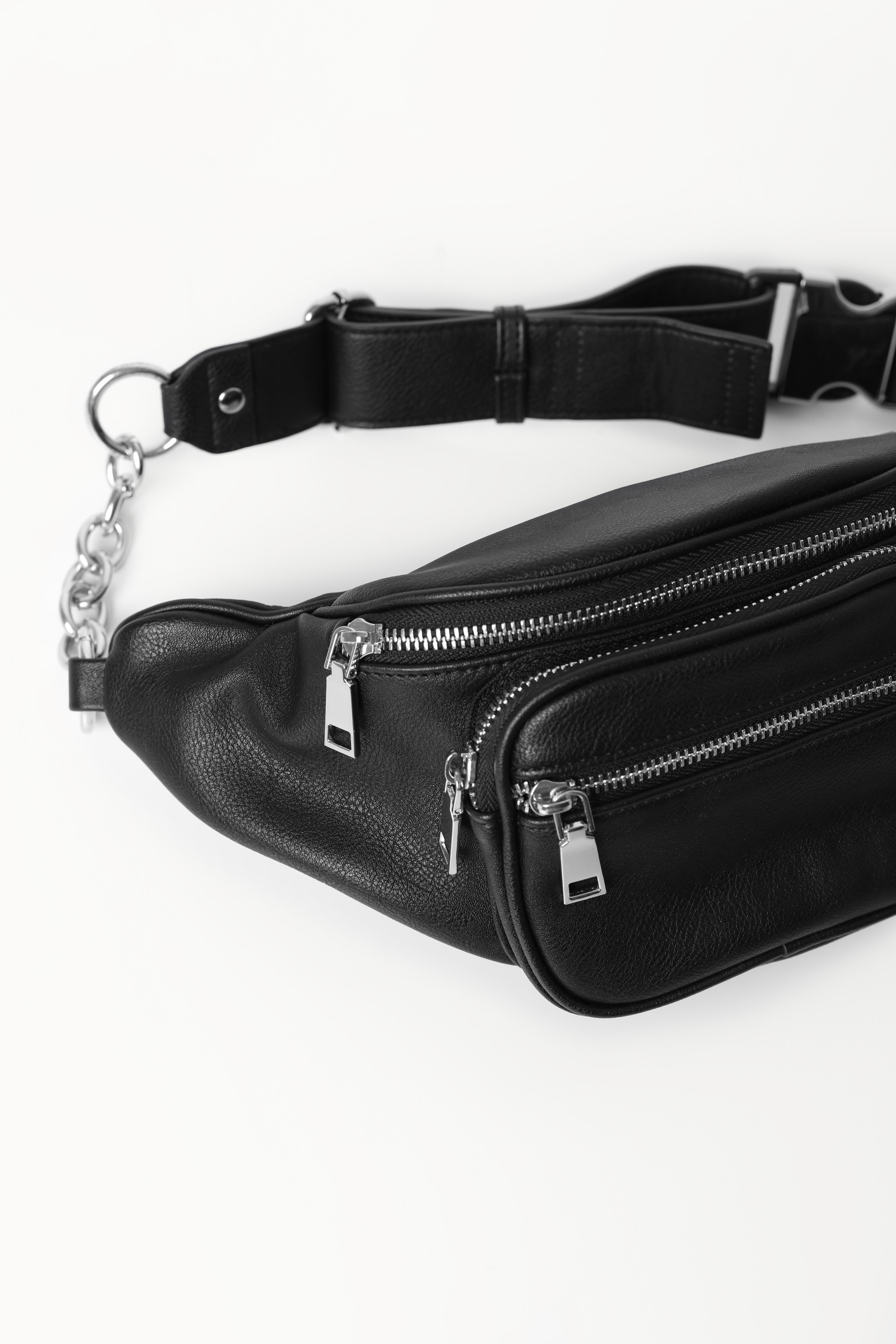 Поясная сумка с карманами