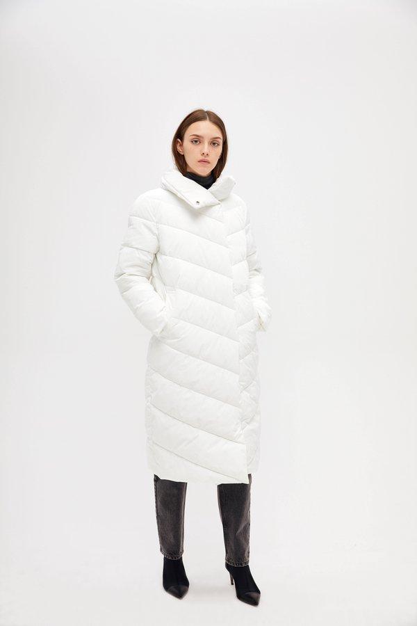 Стеганая куртка цвет: белый