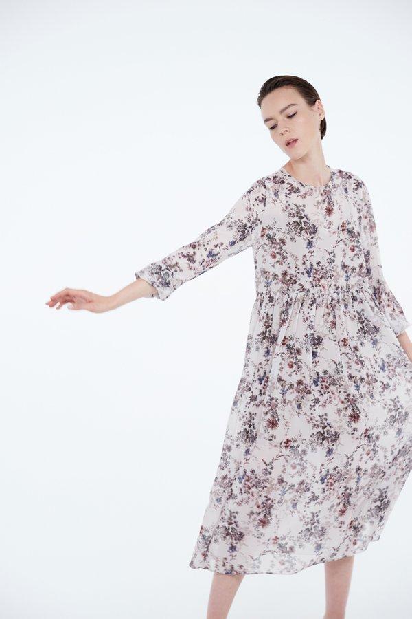 Воздушное платье макси