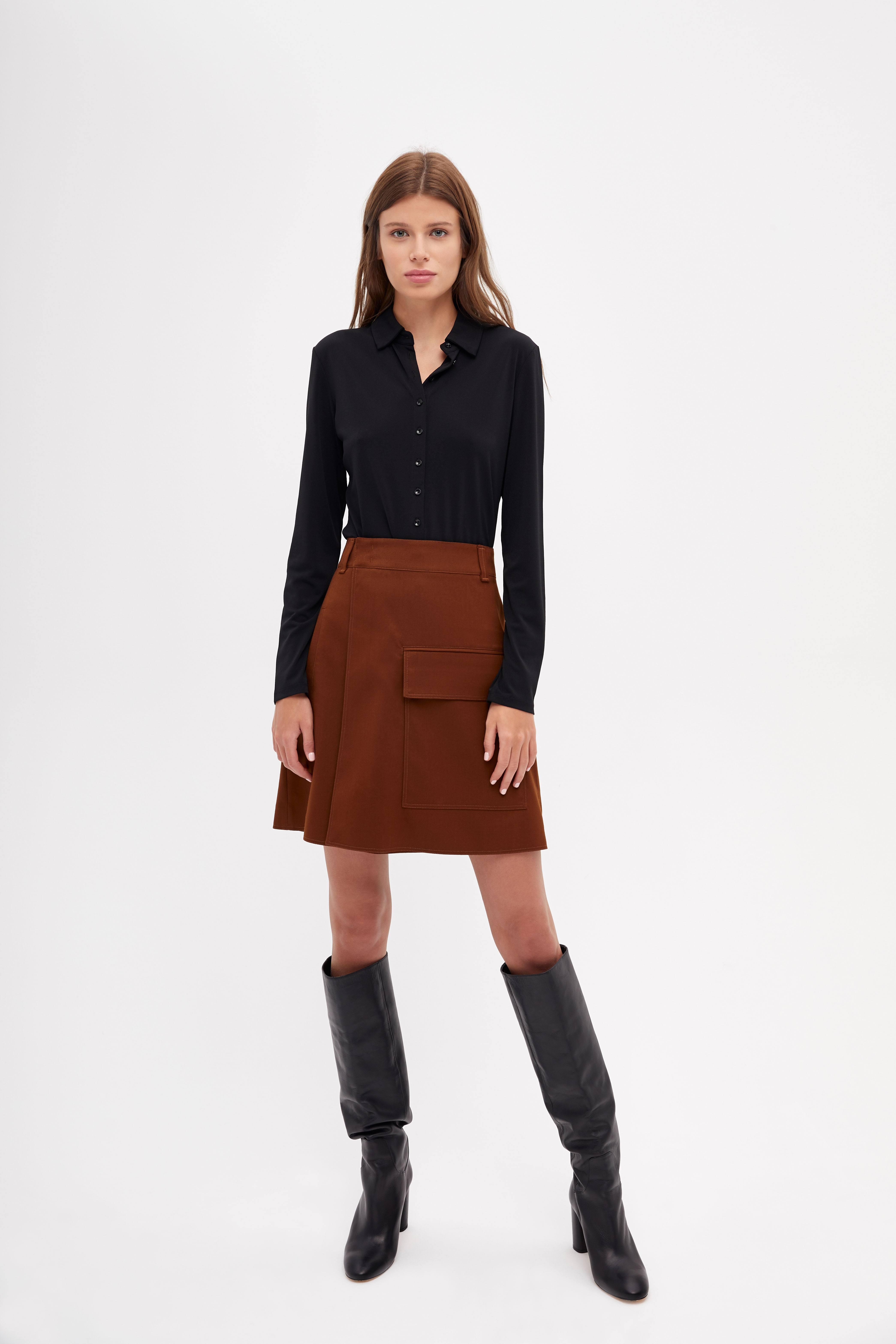 Юбка LIME Асимметричная юбка