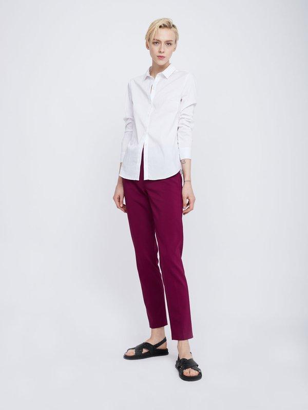 Классические брюки со стрелками цвет: фиолетовый