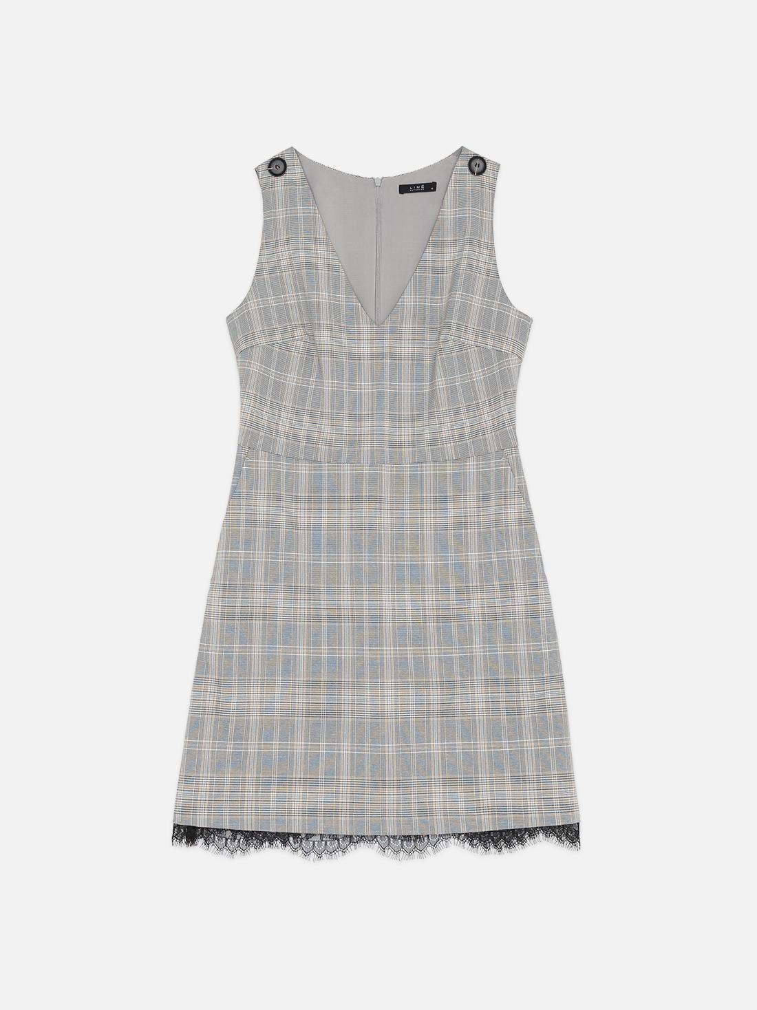 Платье в шотландскую клетку