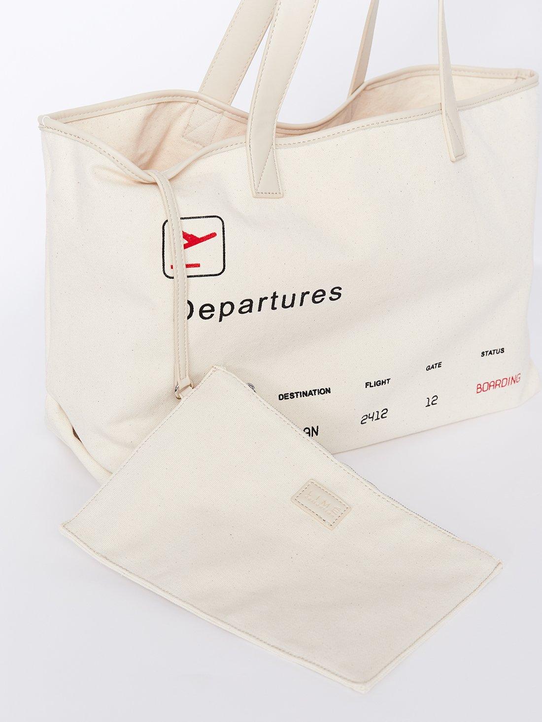 Сумка-шоппер со съемной внутренней сумкой