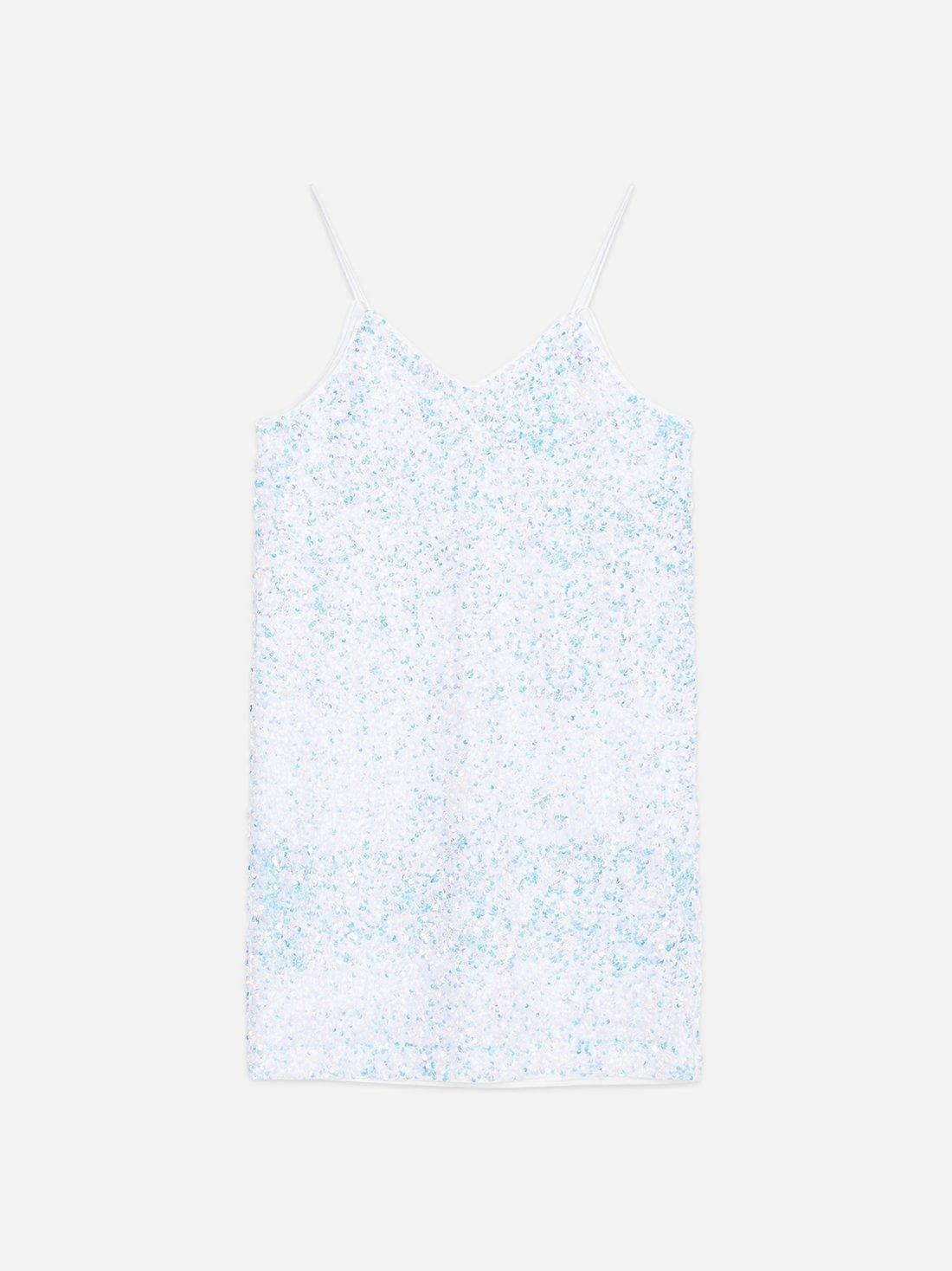 Платье с перламутровыми пайетками