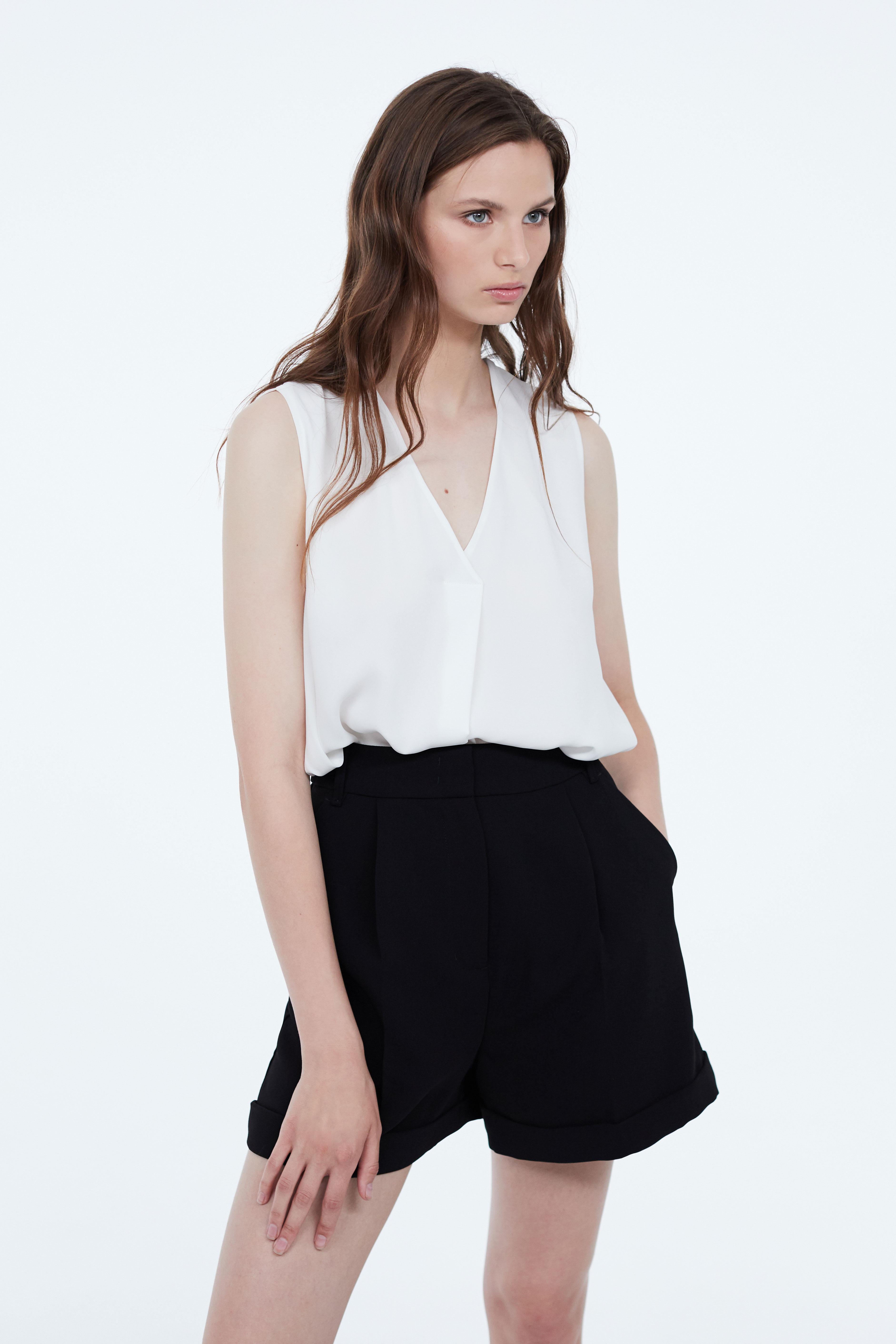 Блузка LIME Блузка со складкой блузка lime