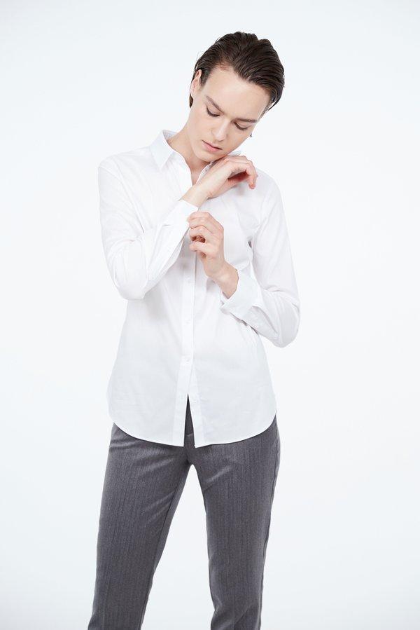 Классическая рубашка цвет: белый