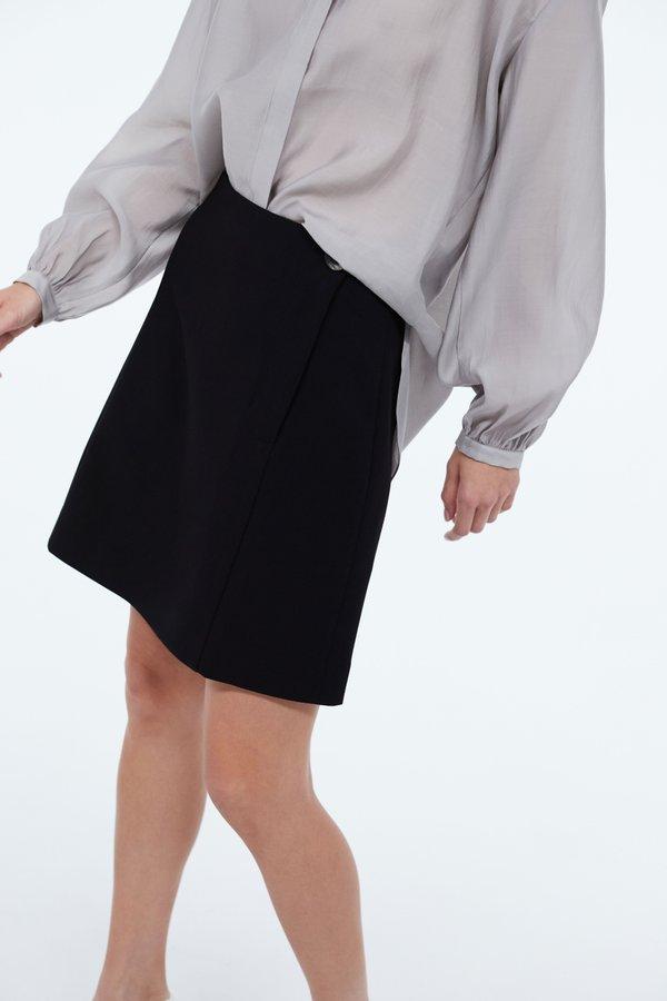 юбка цвет: черный