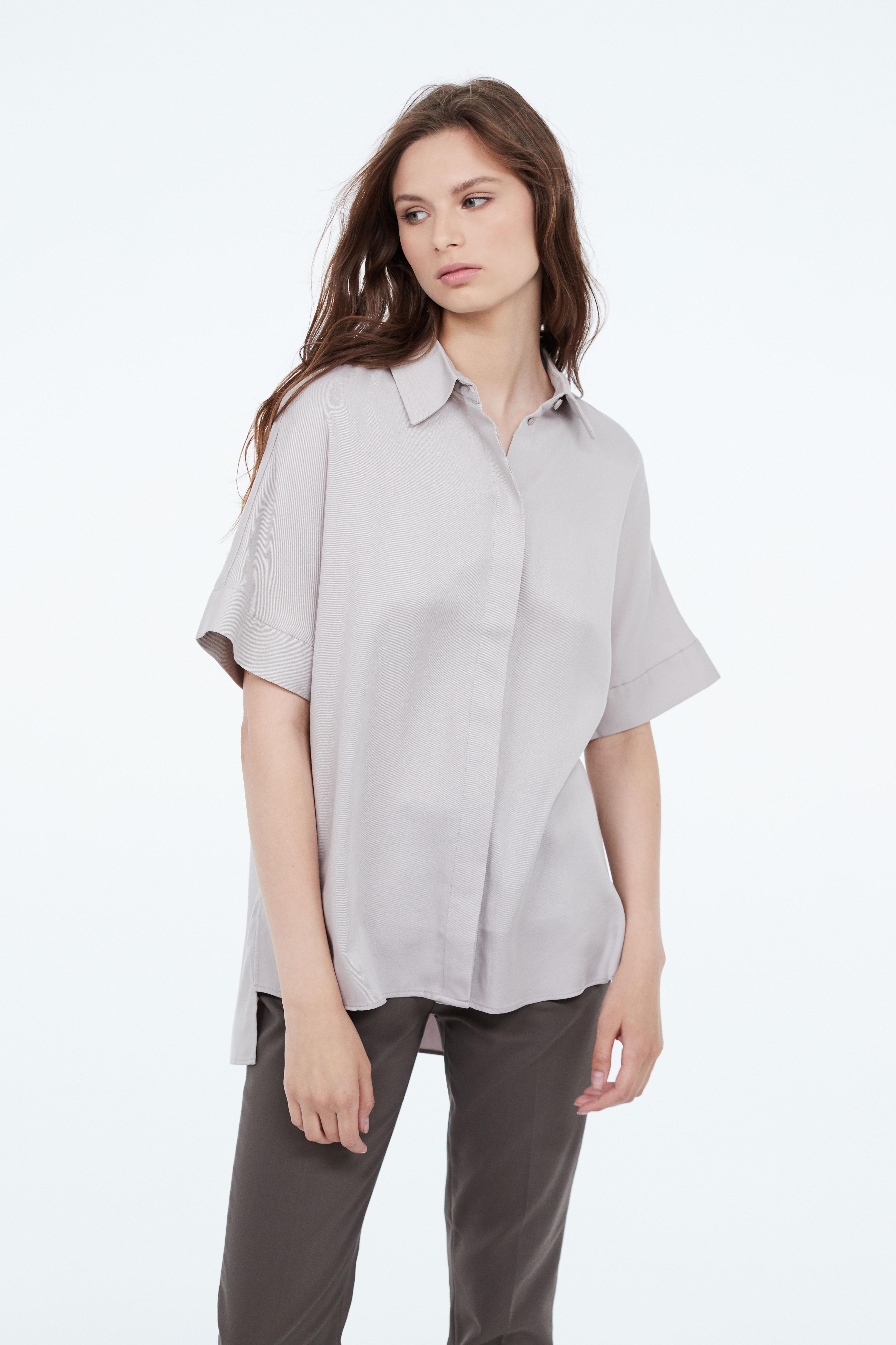 Рубашка LIME в стиле оверсайз