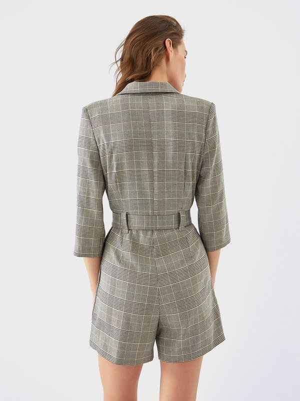 Платье - комбинезон вид сзади