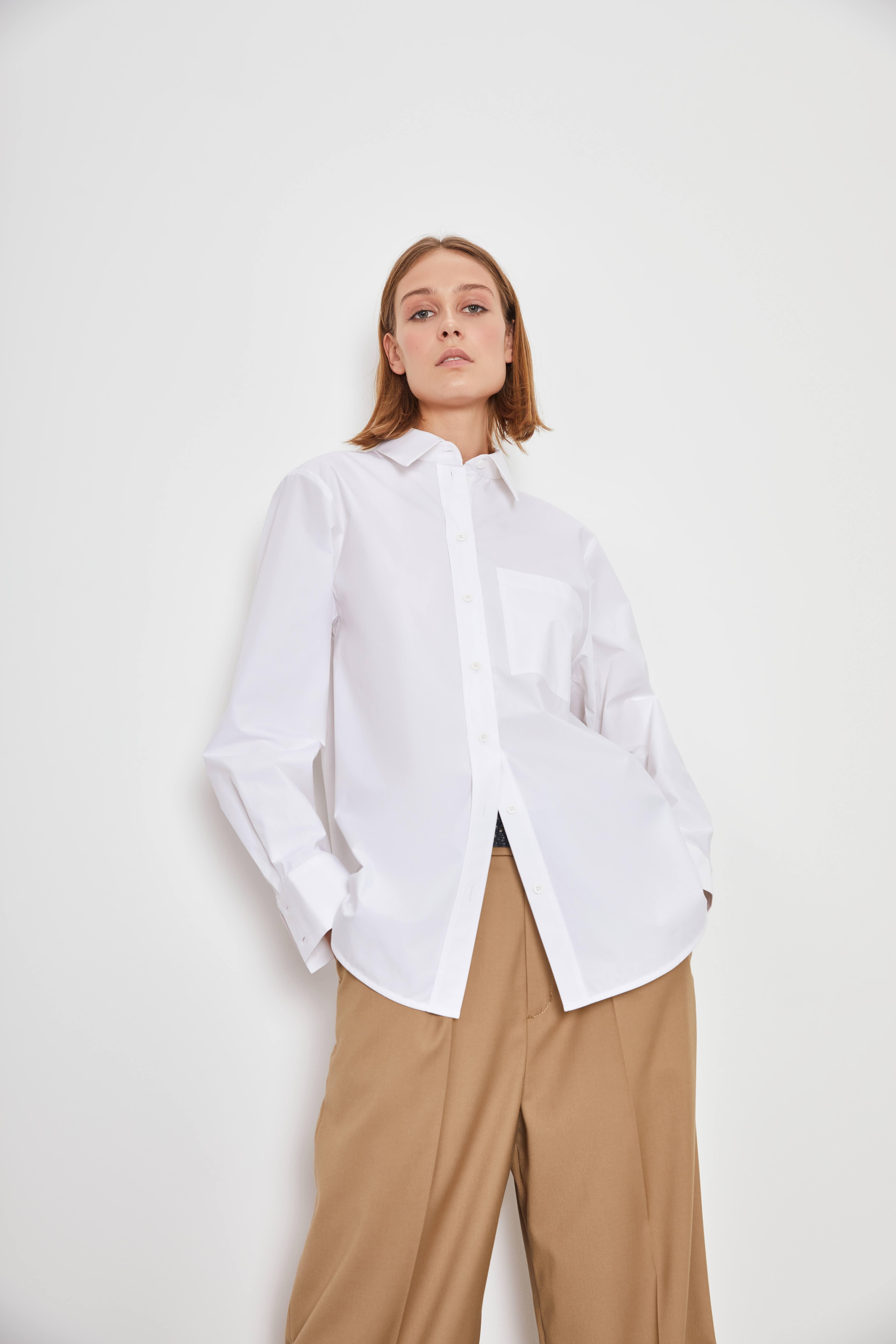 Рубашка LIME Рубашка с карманом рубашка lime свободная рубашка