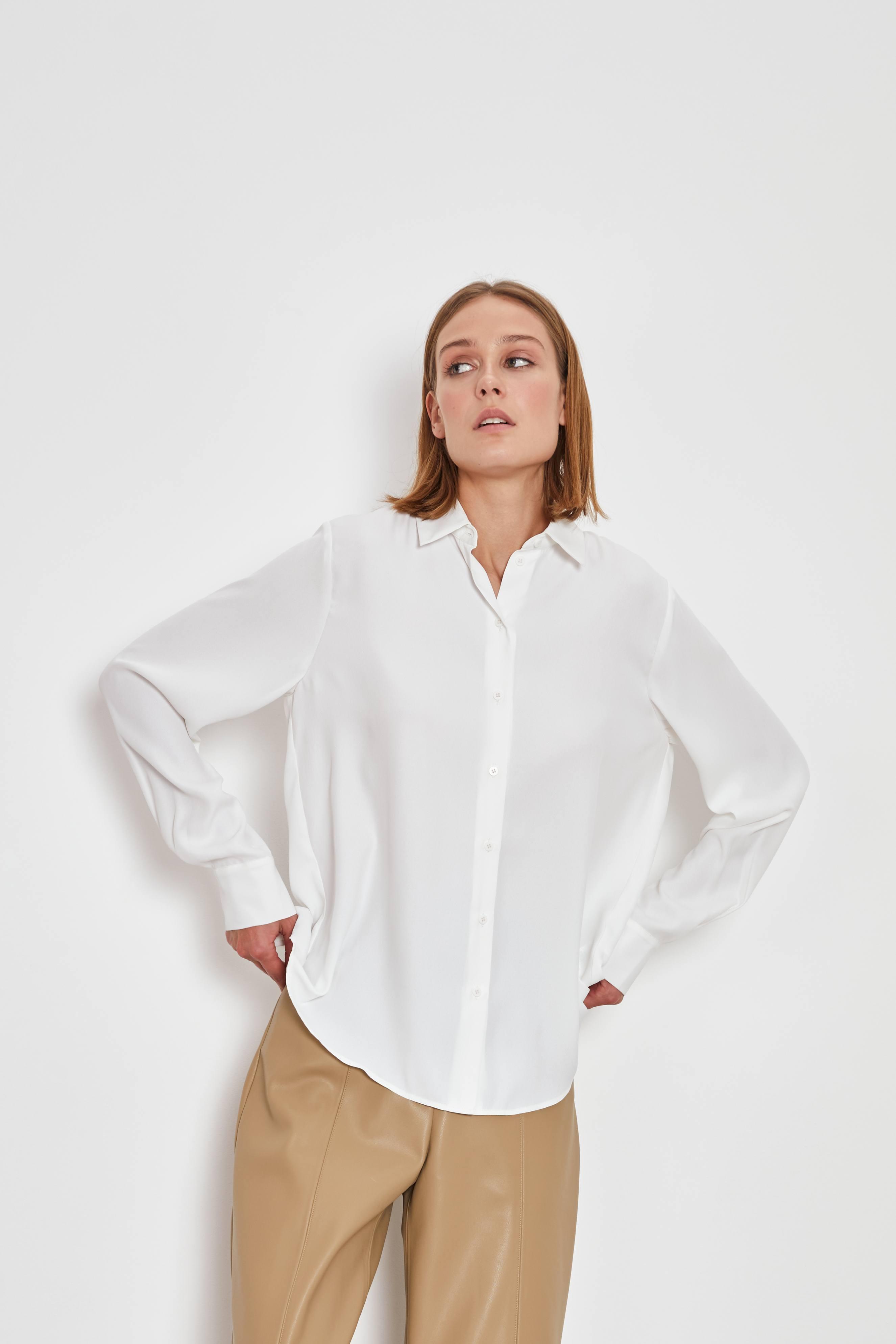 Фото - Рубашка LIME Свободная рубашка рубашка izod izod iz003emelbc1