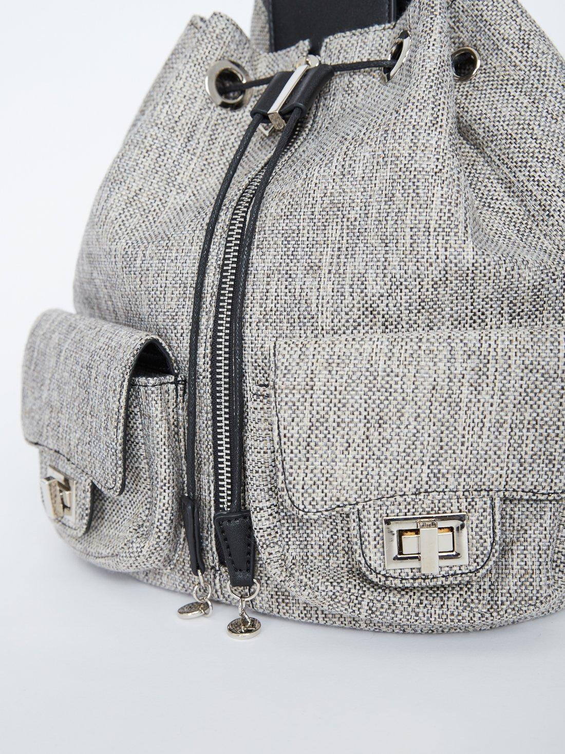Текстильный рюкзак с карманами