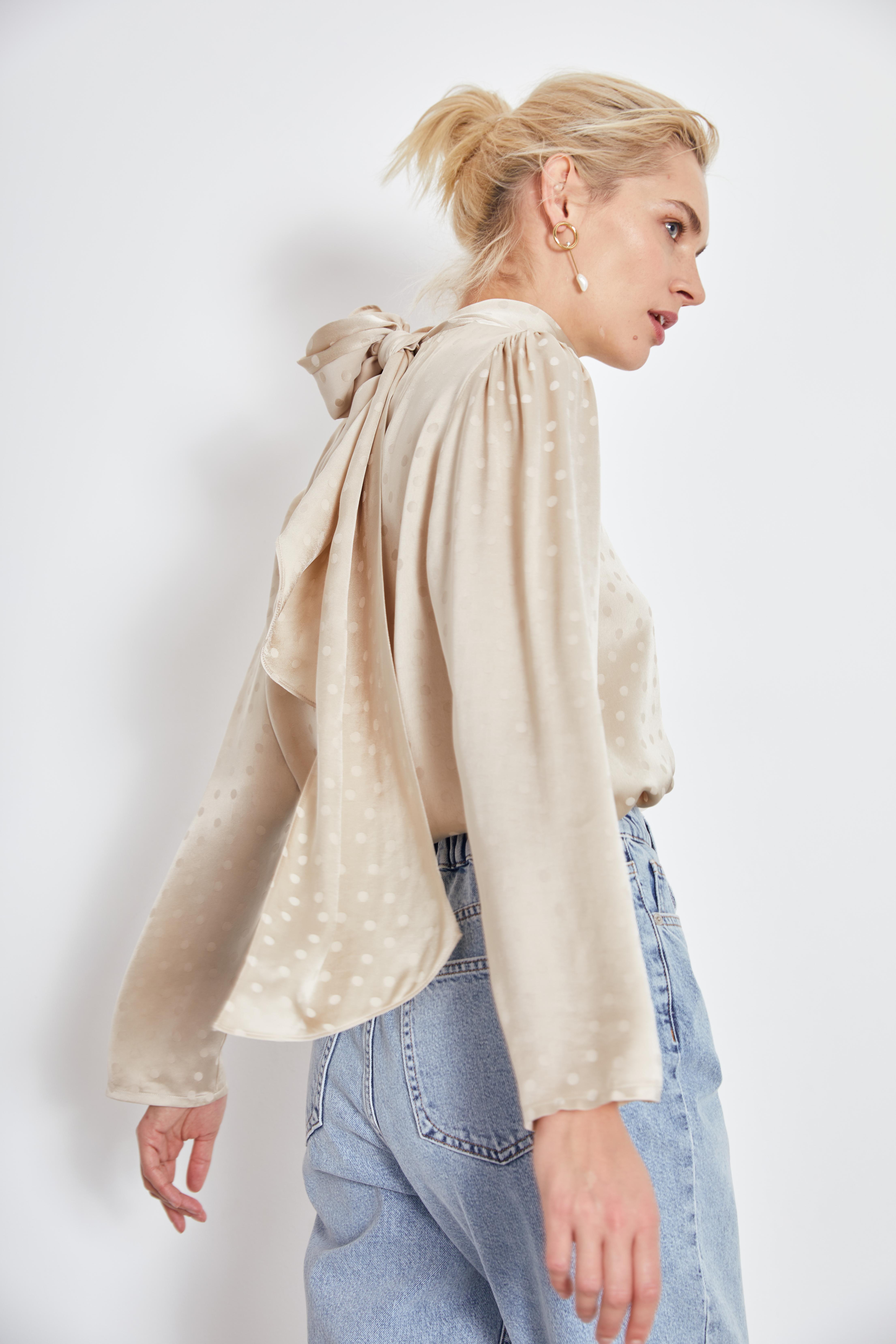 Блузка LIME Блузка с бантом блузка francesca lucini блузка