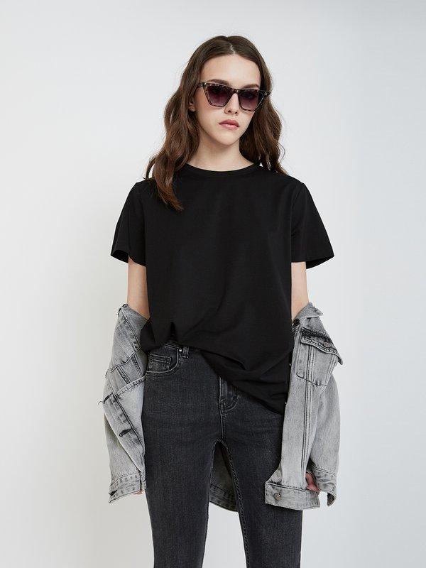Классическая футболка цвет: черный
