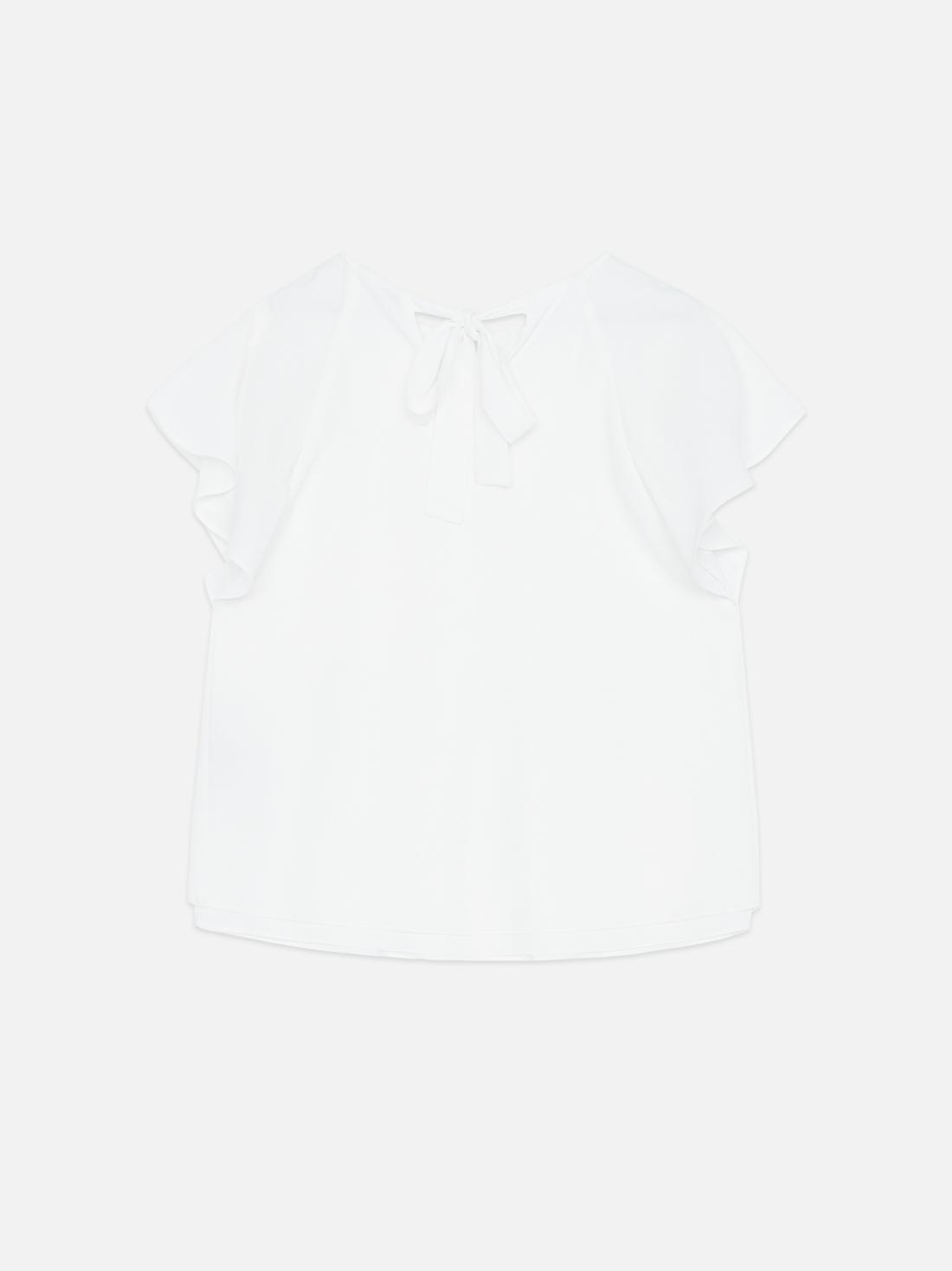 Блузка с бантом на спинке