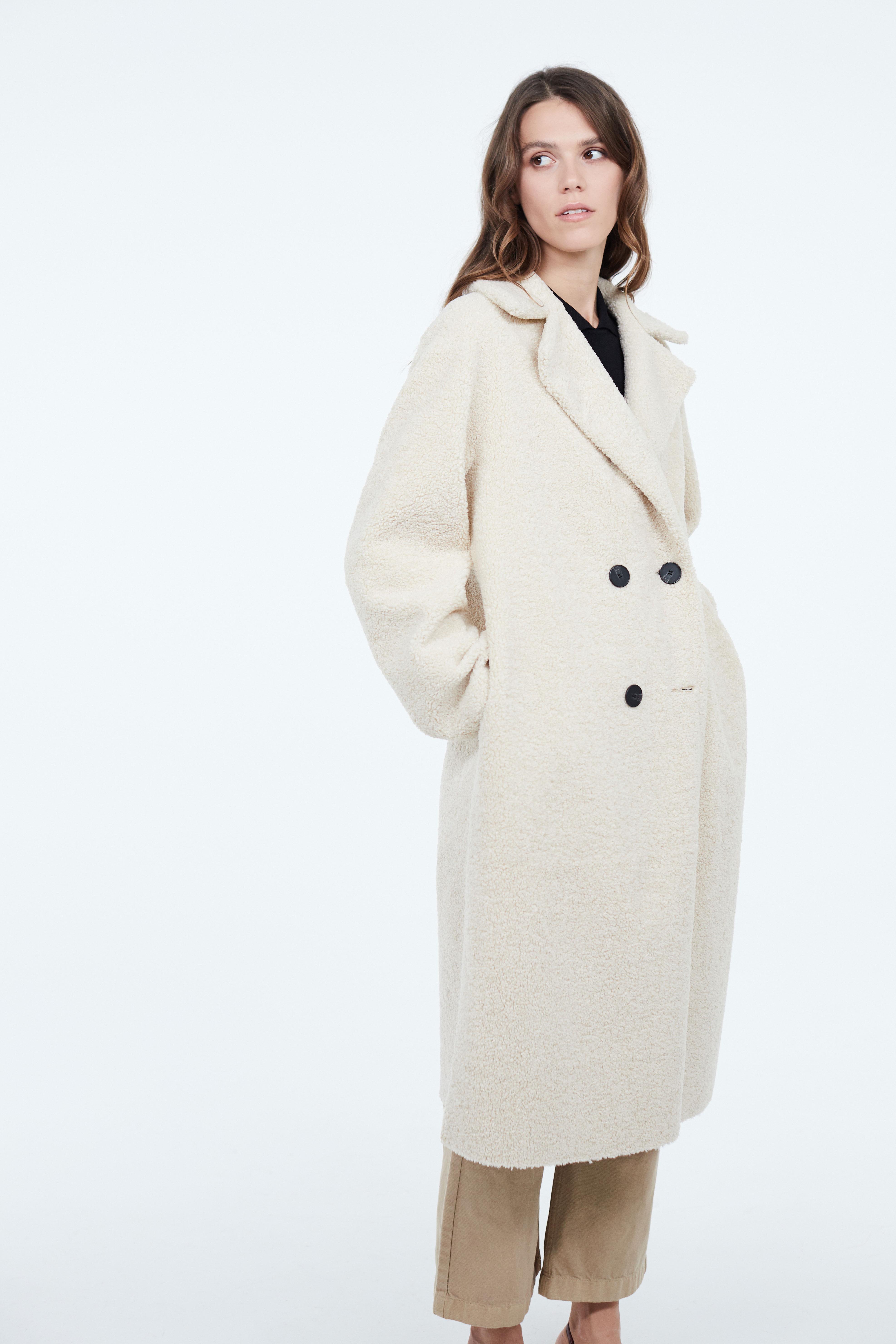 Пальто LIME Пальто с отложным воротником пиджак с отложным воротником b young
