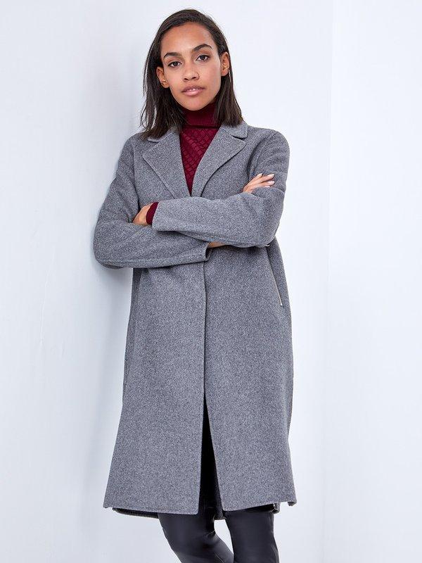 Свободное пальто