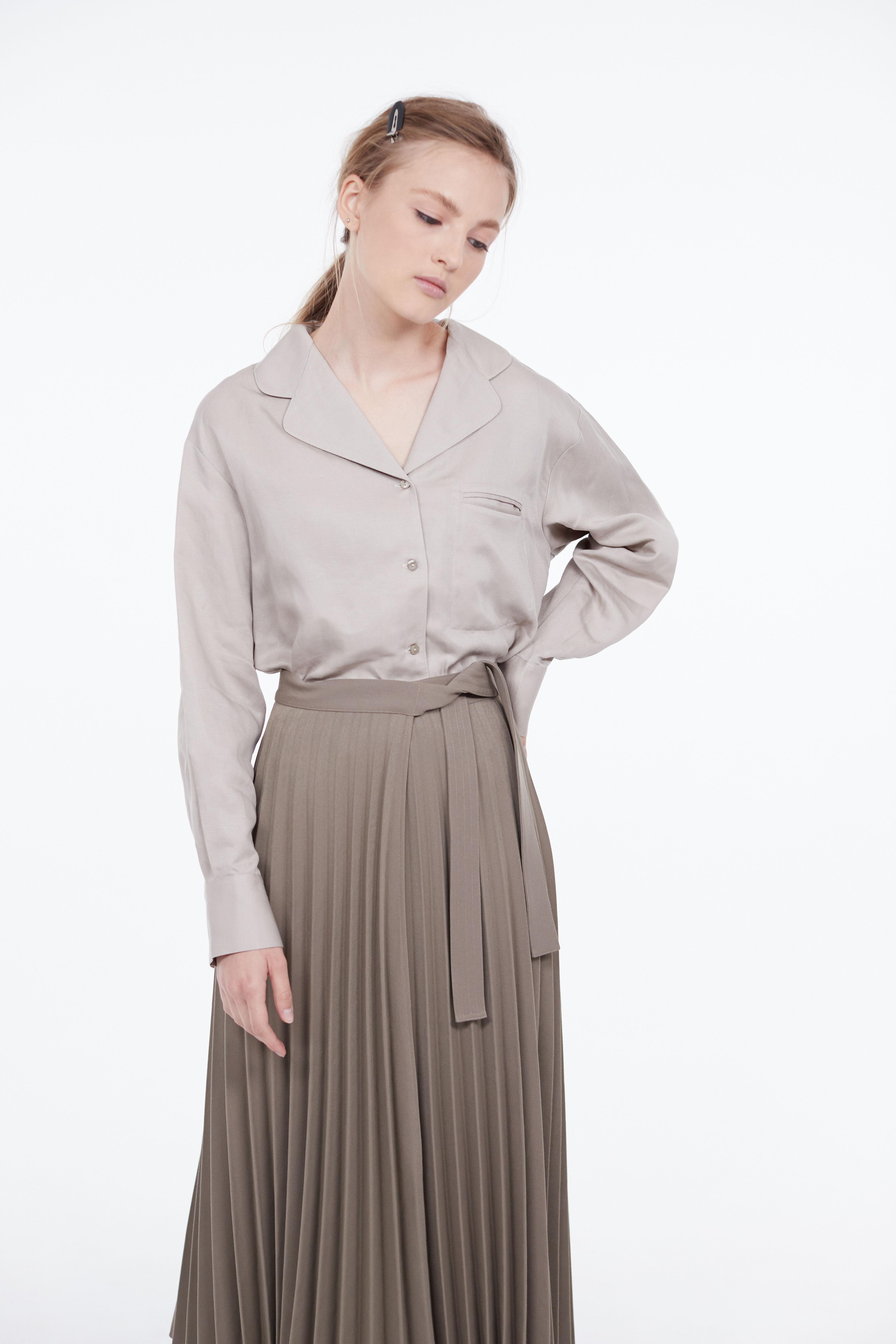 Рубашка LIME Рубашка с карманом yuzhe studios черная рубашка с контрастным карманом rushmore