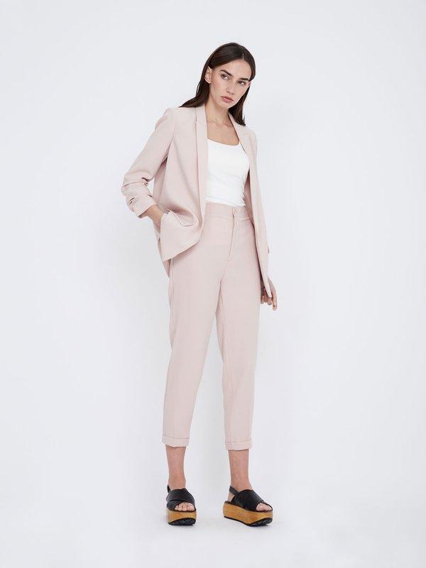 Классические брюки цвет: светло-пудровый