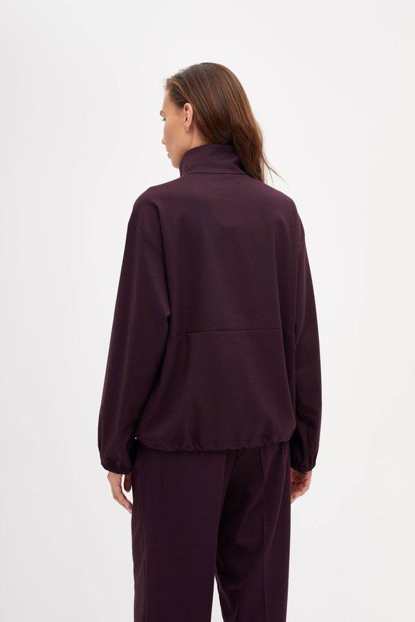 Блузка на кнопках вид сзади
