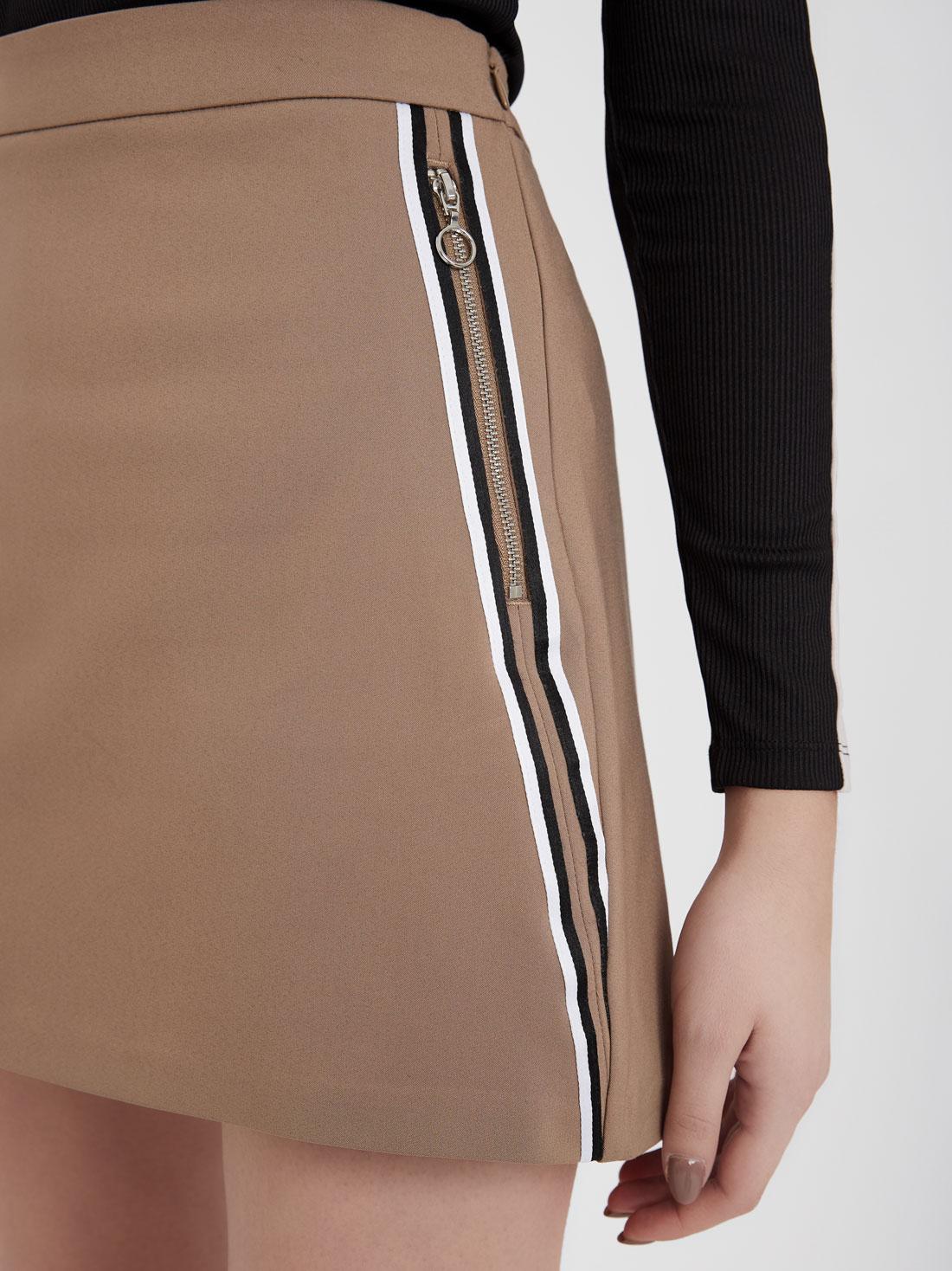 Юбка-шорты с карманами