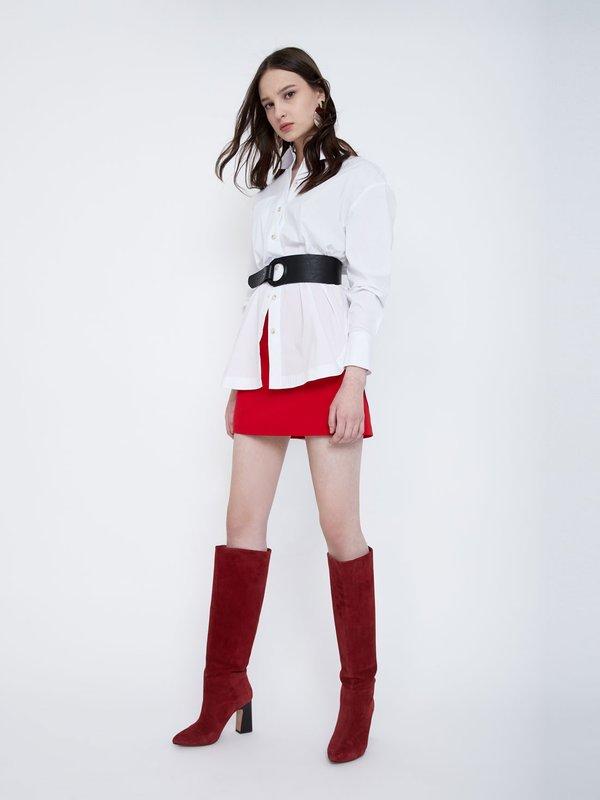Юбка-шорты цвет: ярко-красный