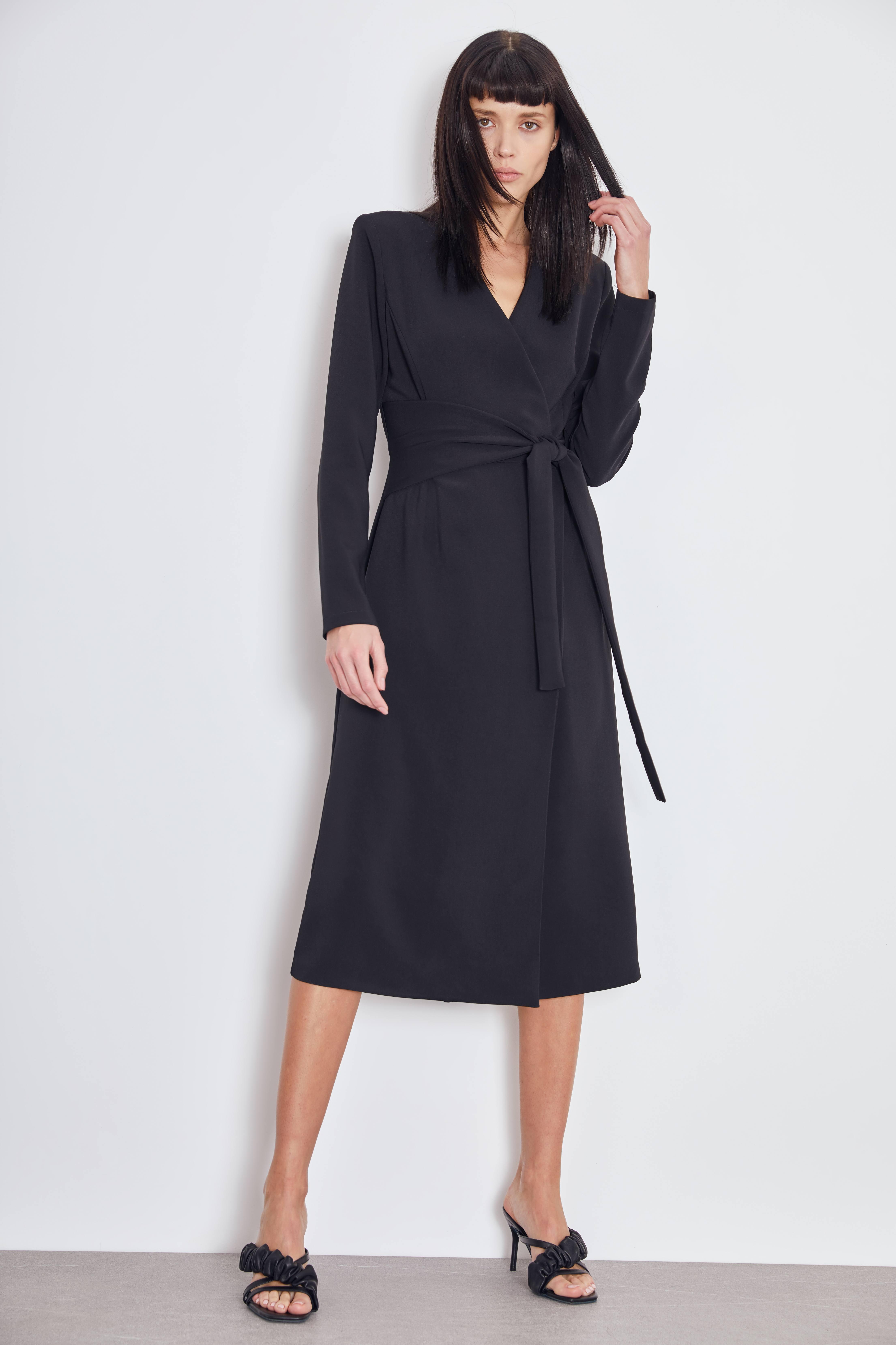 Платье LIME Платье с завязкой