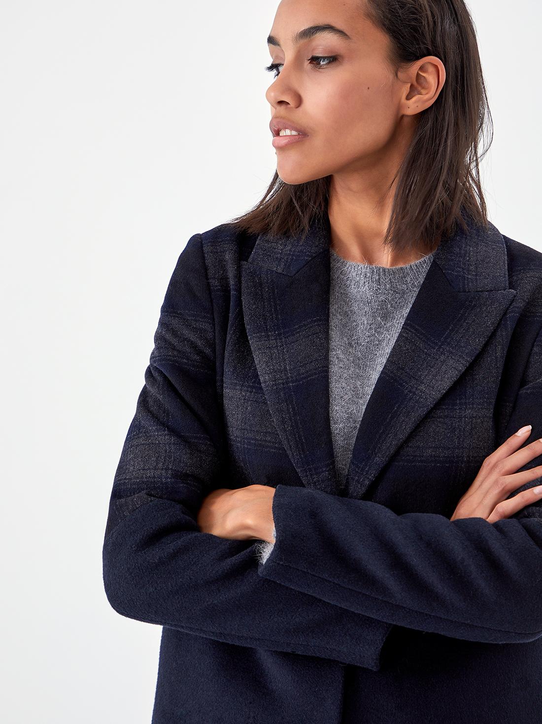 Пальто на кнопках
