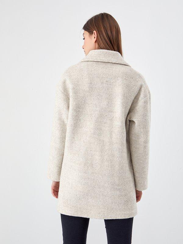 Пальто - оверсайз вид сзади
