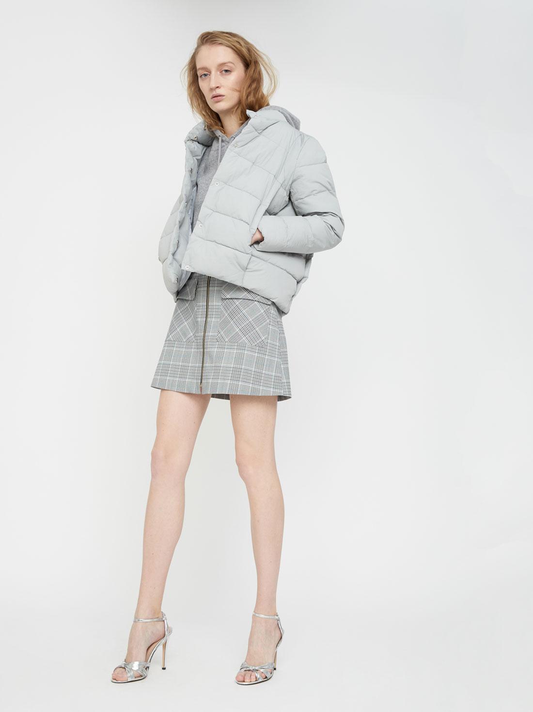 Куртка с воротником-стойка